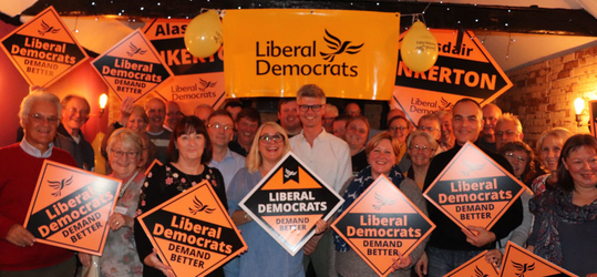Surrey Heath Liberal Democrats and Alasdair Pinkerton