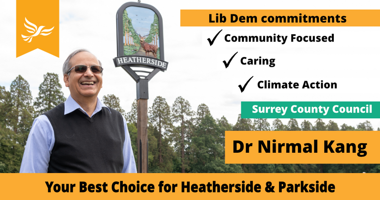 Header for Nirmal's Campaign Page