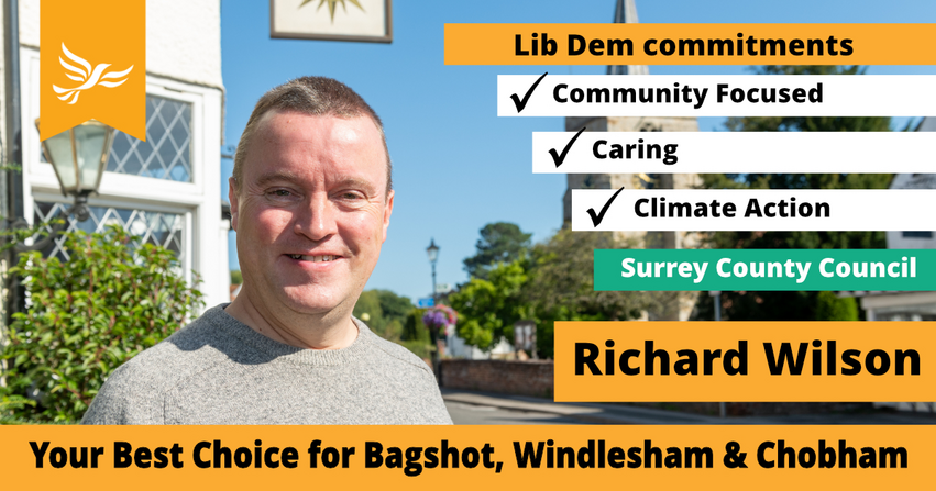 Graphic for the Bagshot, Windlesham and Chobham Campaign