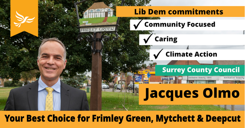 Graphic for the FrimleyGreen and Mytchett Campaign