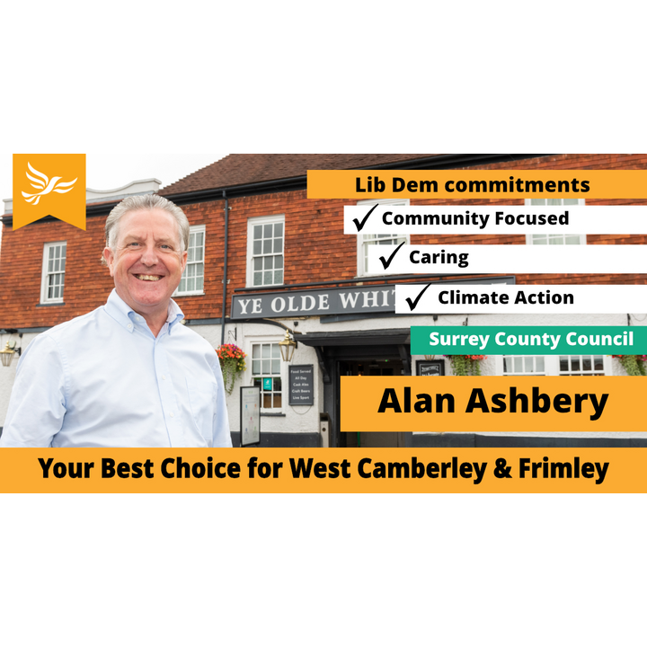 Graphic for the Camberley West Campaign